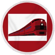 Rail Round Beach Towel by Now
