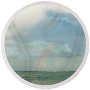 Rainbow 1 Round Beach Towel