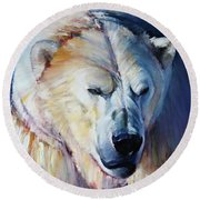 Rainbow Warrior Round Beach Towel