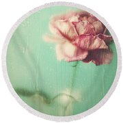 Round Beach Towel featuring the photograph Rainy Day Romance by Amy Weiss