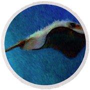 Rajiformes Round Beach Towel