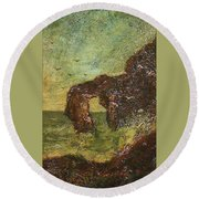 Ralph Albert Blakelock  1847  1919  Marine, Seal Rock Round Beach Towel