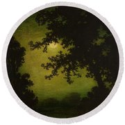 Ralph Albert Blakelock  1847  1919  Stilly Night Round Beach Towel