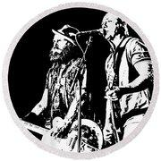 Rancid - Lars And Tim Round Beach Towel