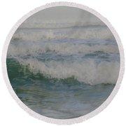 Rapid Waves Round Beach Towel