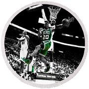 Ray Allen 2c Round Beach Towel