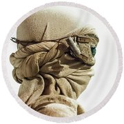 Ray From The Force Awakens Round Beach Towel