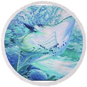 Ray Round Beach Towel