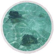 Rays Round Beach Towel