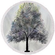 Reading Tree Round Beach Towel