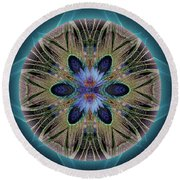 Rebirth Rising Round Beach Towel