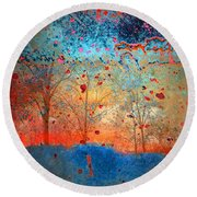 Rebirth Round Beach Towel
