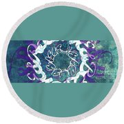 Receive And Believe 2 Round Beach Towel