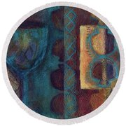 Reciprocation Round Beach Towel