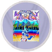 Recovery Works Round Beach Towel