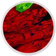 Red Hot Chili 2 Round Beach Towel
