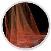 Red Sails Round Beach Towel
