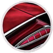 Red Tail Impala Vintage '59 Round Beach Towel