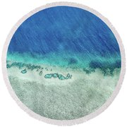 Reef Barrier Round Beach Towel