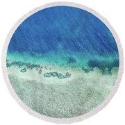 Reef Barrier Round Beach Towel