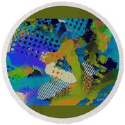 Reef Round Beach Towel
