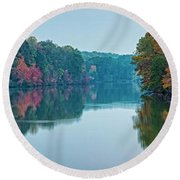 Reflection IIi Round Beach Towel