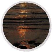 Reflection  Round Beach Towel