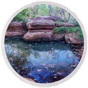 Reflection Pond 7795-101717-1 Round Beach Towel