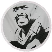 Reggie Round Beach Towel