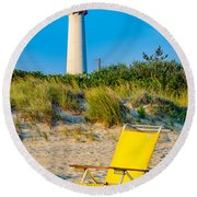 Relax Round Beach Towel