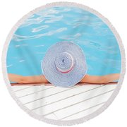 Relaxing Round Beach Towel