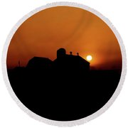 Round Beach Towel featuring the photograph Remember The Sun by Robert Geary
