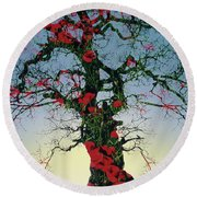 Remembrance Tree Round Beach Towel