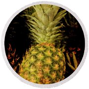 Renaissance Pineapple Round Beach Towel