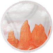 Rendevouz Round Beach Towel