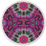 Reproduction Round Beach Towel