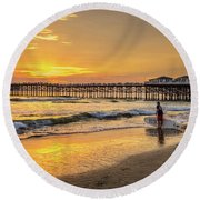 Rescue Round Beach Towel