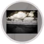 Reservation Road Round Beach Towel