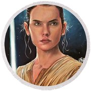 Rey Round Beach Towel