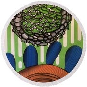 Rfb0104 Round Beach Towel