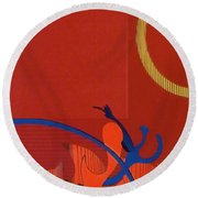 Rfb0118 Round Beach Towel