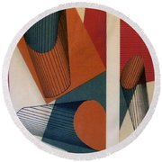 Rfb0119 Round Beach Towel
