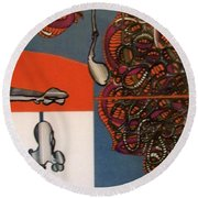 Rfb0123 Round Beach Towel