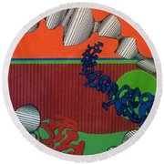 Rfb0124 Round Beach Towel
