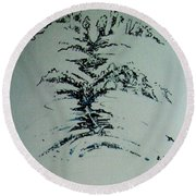 Rfb0206 Round Beach Towel