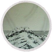 Rfb0207 Round Beach Towel