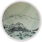 Rfb0211-2 Round Beach Towel
