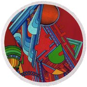 Rfb0301 Round Beach Towel