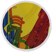 Rfb0303 Round Beach Towel