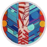 Rfb0304 Round Beach Towel